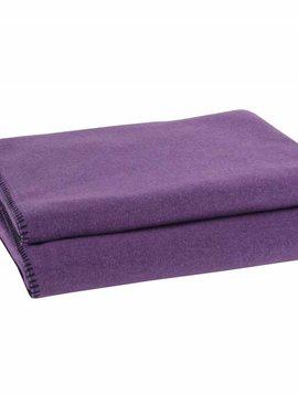 zoeppritz Soft-Fleece 160x200cm, violett, Farbe 490