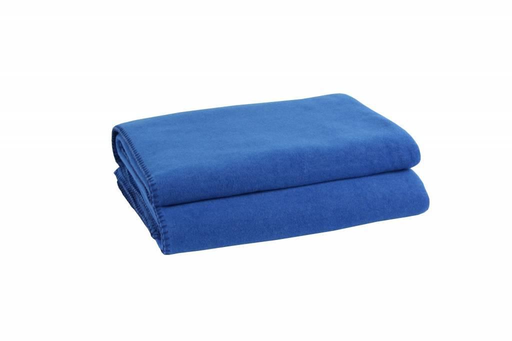 zoeppritz Soft-Fleece 160x200 cm, royalblau, Farbe 565 - Wohndekor ...