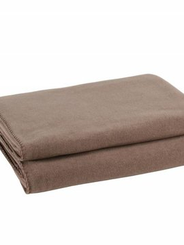 zoeppritz Soft-Fleece 160x200cm, taupe
