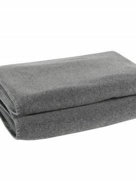 zoeppritz Soft-Fleece 160x200cm, mittelgraumelliert Farbe 940