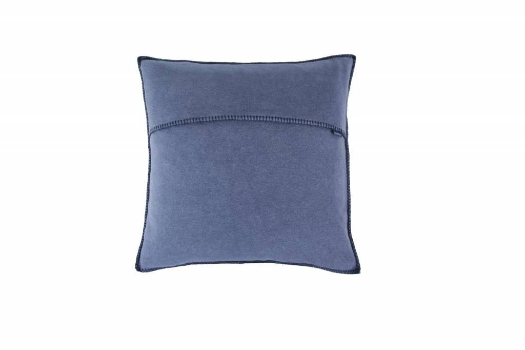 zoeppritz Kissenbezug COSY 50x50 cm Farbe 540 jeansblau