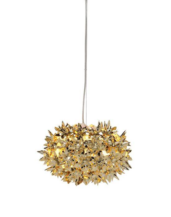 Kartell Leuchte Bloom, gold