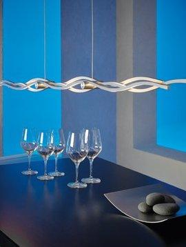Escale Hängeleuchte Silk, 157 cm lang