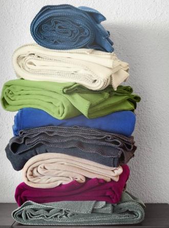zoeppritz Soft-Fleece 160x200 cm, mittelgraumelliert, Farbe 940