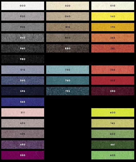 zoeppritz Kissenbezug COSY 50x50 cm, dunkelgrau, Farbe 960