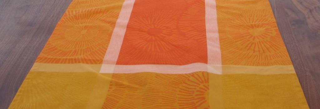 Garnier Thiebaut Tischläufer Mille sunshine, 55/150 cm