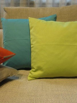 Garnier Thiebaut Kissenbezug Confetti, Farbe lime, 40/40 cm