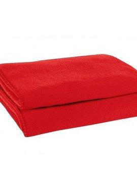 zoeppritz Soft-Fleece 160x200cm, rot, Farbe 355