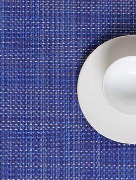 chilewich Tischset Mini Basketweave, bluebeerry