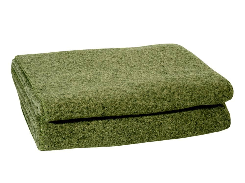 zoeppritz Softwool, 160/200 cm, Farbe moosgrün