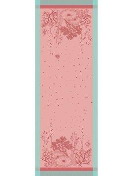 Garnier Thiebaut Tischläufer Corail Rose 155x55cm