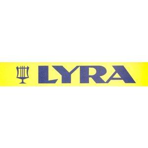 Lyra Viltstift watervast zwart 2-6mm per doosje | 10stuks
