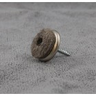 Viltschroef metaal 24mm - 100 stuks