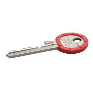 Kenringen voor sleutels 100 stuks Rood
