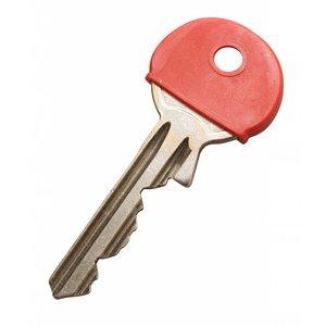 Kenkappen voor sleutels Rood 100 stuks