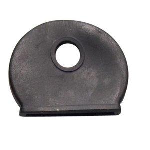 Kenkappen voor sleutels Zwart 100 stuks