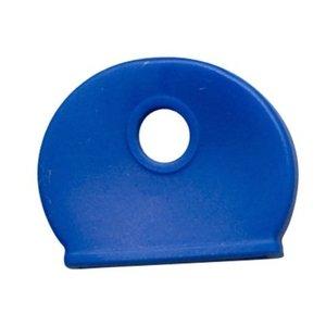 Kenkappen voor sleutels Blauw 100 stuks