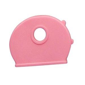 Kenkappen voor sleutels Zacht Roze 100 stuks