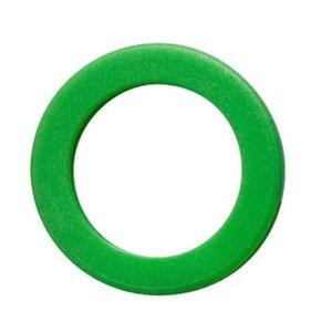 Kenringen voor sleutels 100 stuks Groen