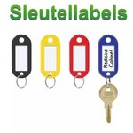 Sleutellabels + S-haak
