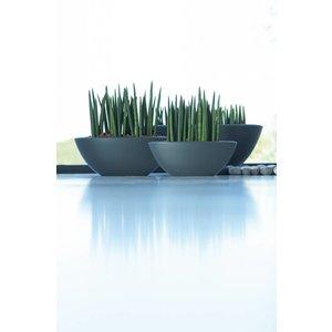 Elho Pure Soft Oval 80cm Lime Groen. Elho Pure Schalen.