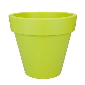 Elho Pure Round 140cm Lime Groen. Elho Pure Bloempotten