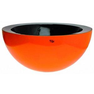Kingston Hoogglans Oranje Schaal Ø60 x H28 cm