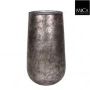 Copa Vaas 60cm Oud Zilver