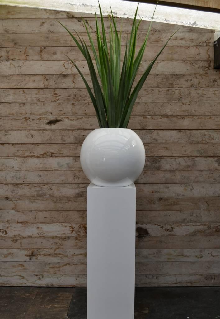 Witte Bloempot Vierkant.Plantenbak Binnen Groot Finest Excellent Amazing Latest Bloem