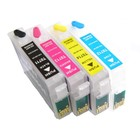 Epson T0711-T0714 hervulbare cartridges met Auto-Reset chip