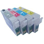 Epson T1291-T1294 hervulbare cartridges met Auto-Reset chip