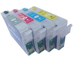 Epson T1291-T1294 hervulbare cartridges met Auto-Reset chip