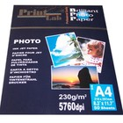 Printlab glossy foto papier A4 230g 20vel