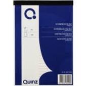 Quinz schrijfblok A5 lijn 60g 100vel