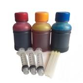 HP navulset 17, 23, 41 en 78 kleur (100ml per kleur)
