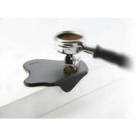 Cafelat Tamp Mat - splat - zwart