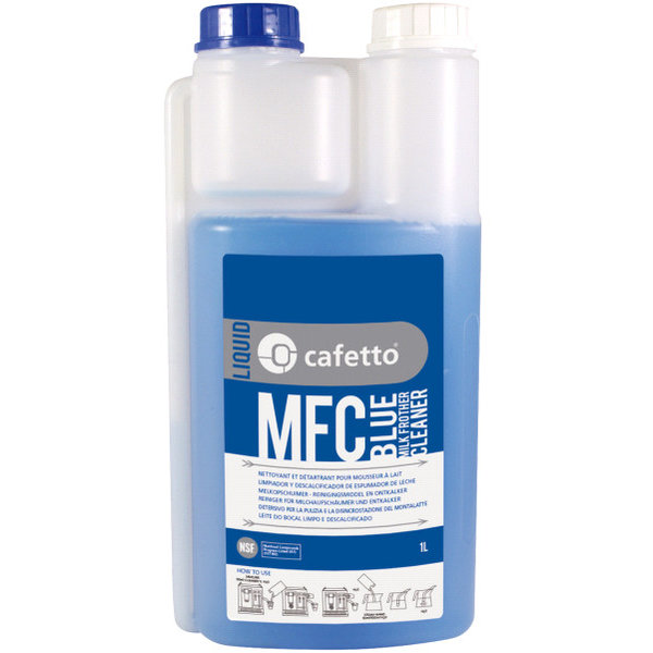 Cafetto Cafetto MFC Blue milk frother cleaning liquid 1ltr