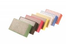 handpads 90x55mm, korrel 1500, schuurpapier natuursteen