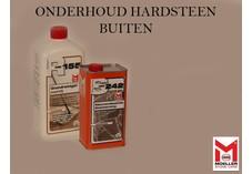 HMK Chinees hardsteen en Belgisch hardsteen onderhoud buiten