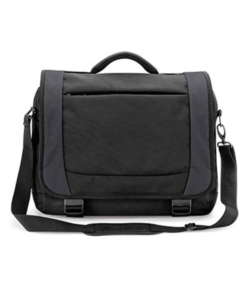Quadra Tungsten Laptop Briefcase Black/Dark Graphite