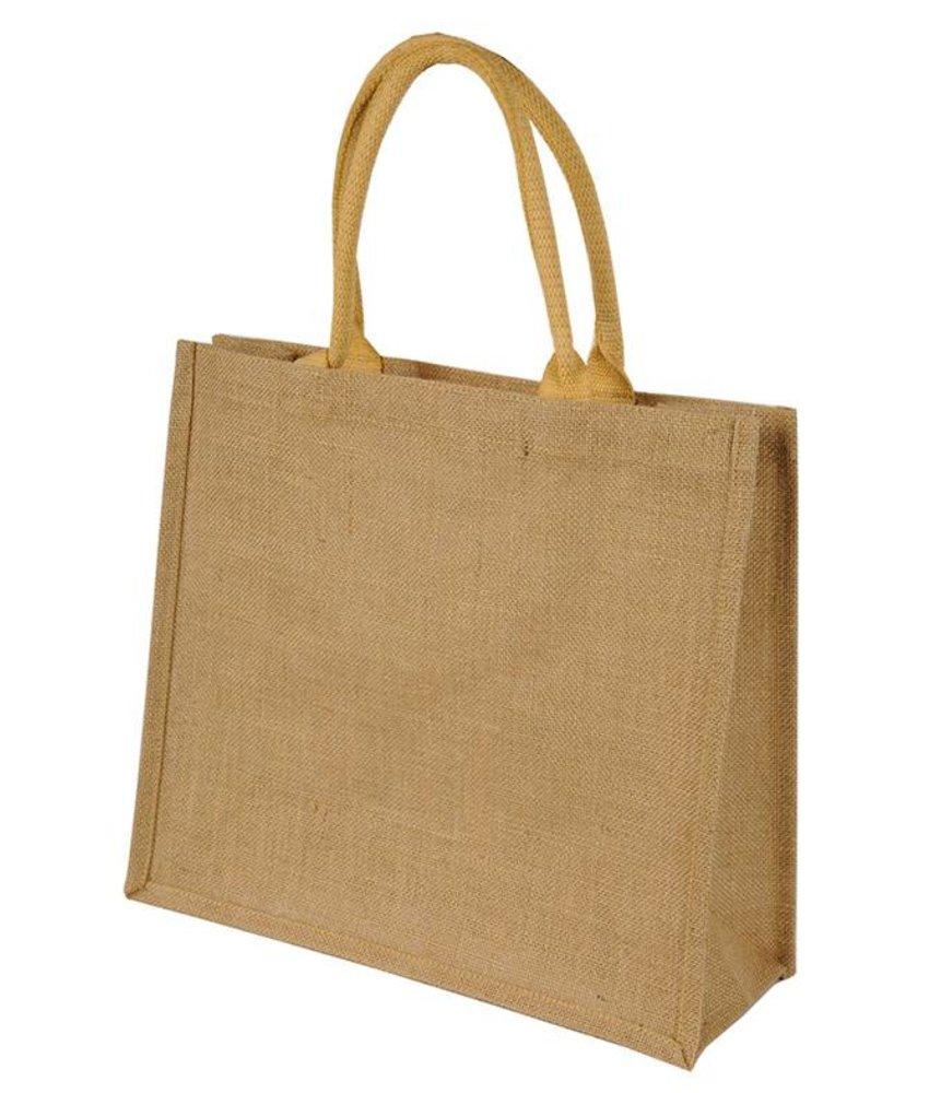 Shugon Chennai Short Handled Jute Shopper Bag Natural