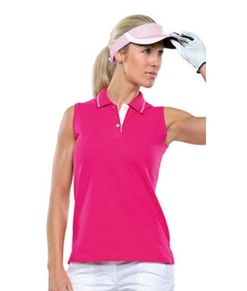 GameGear Ladies Sports Sleeveless Polo