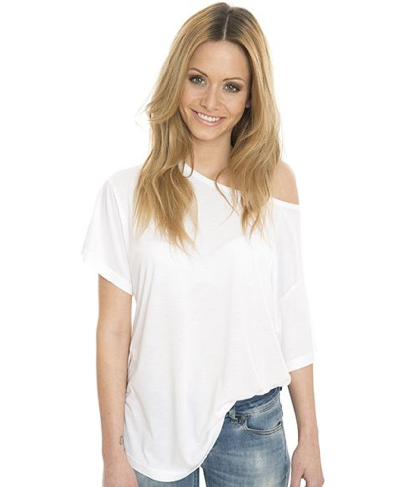 Nakedshirt Kate - Viscose-Cotton Faschion Boxy T-shirt