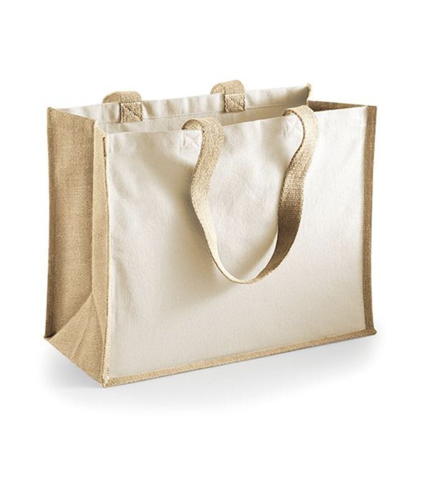 Westford Mill Printers' Jute Classic Shopper