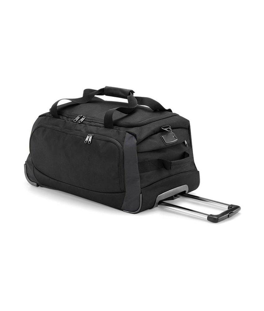 Quadra Tungsten Wheely Travel Bag Black/ Dark Grey