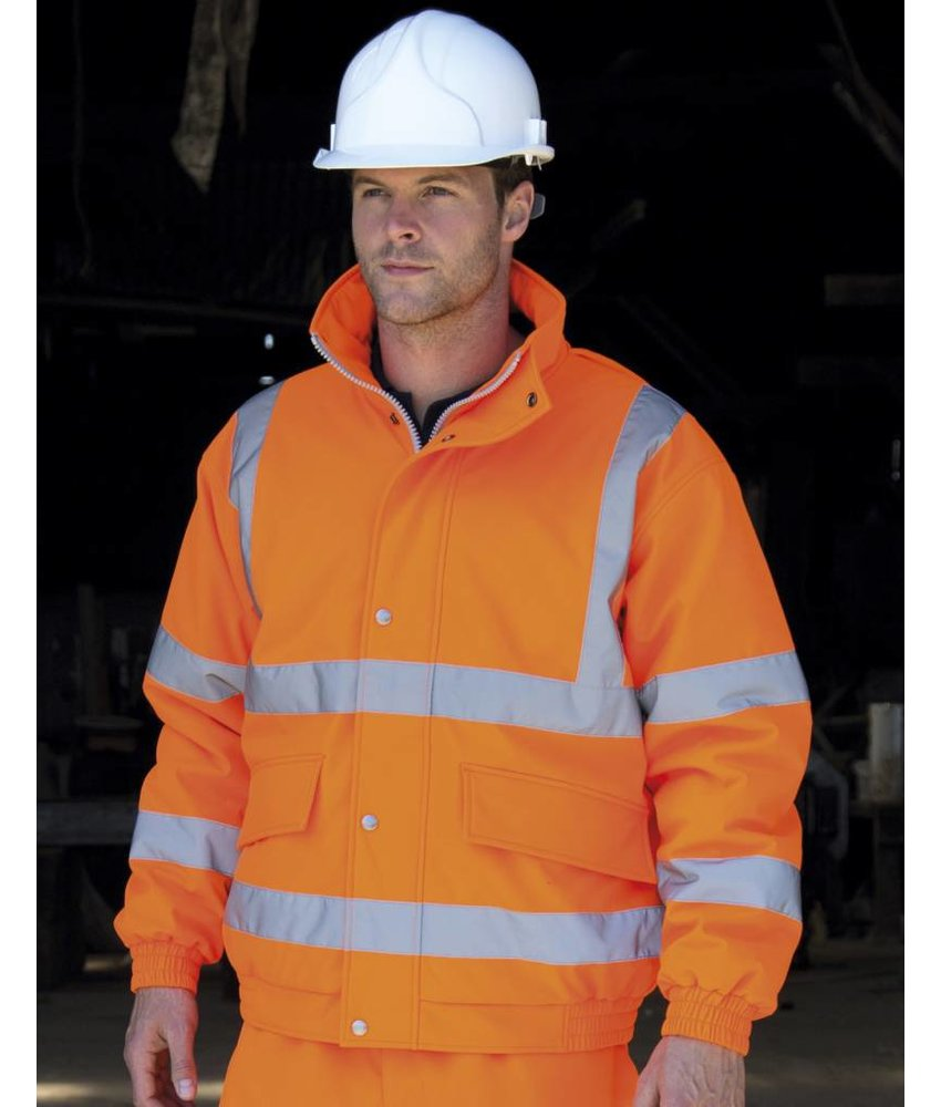 Result Safe Guard Safety Padded Softshell Blouson