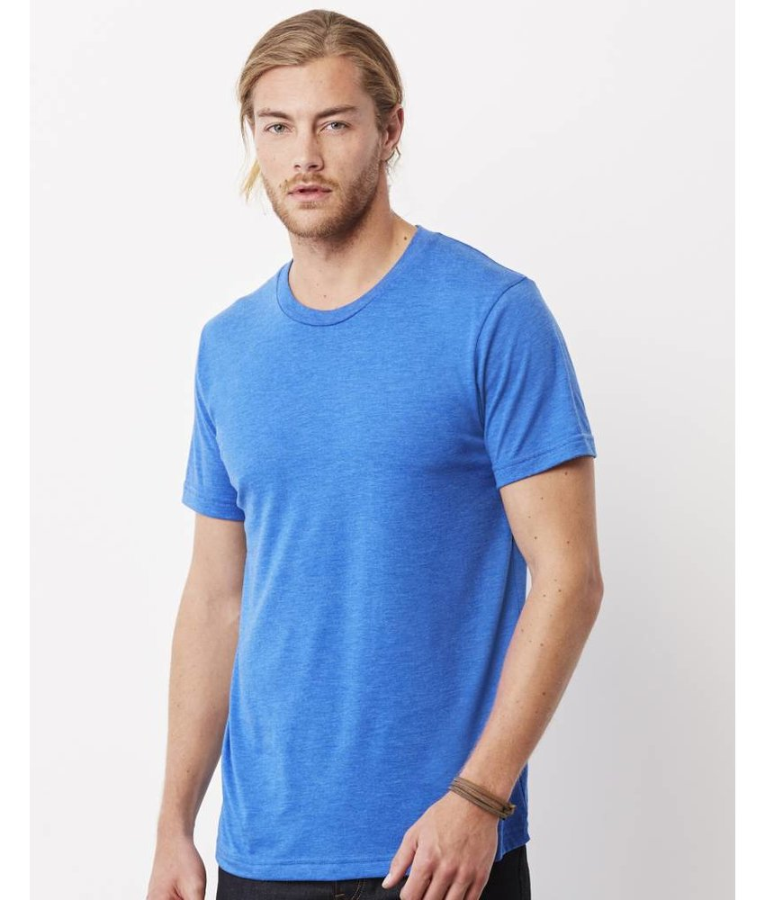 Bella + Canvas Men's Triblend Crew Neck T-Shirt