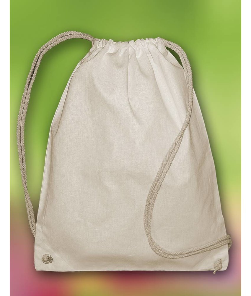 Bags by Jassz 'Pine' Organic Cotton Drawstring Backpack