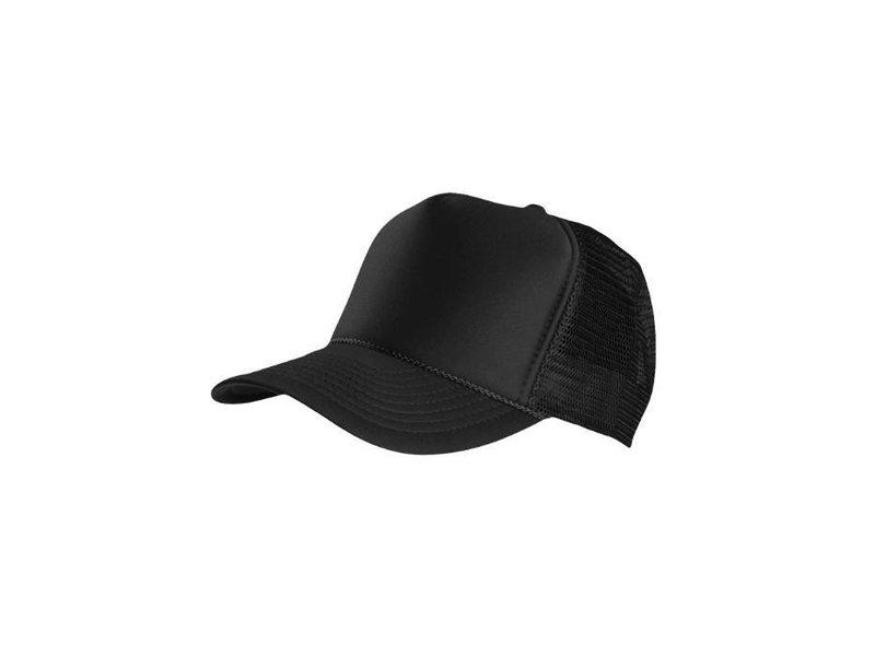 Kwestievanlef Truck Cap Deluxe Black/ Black