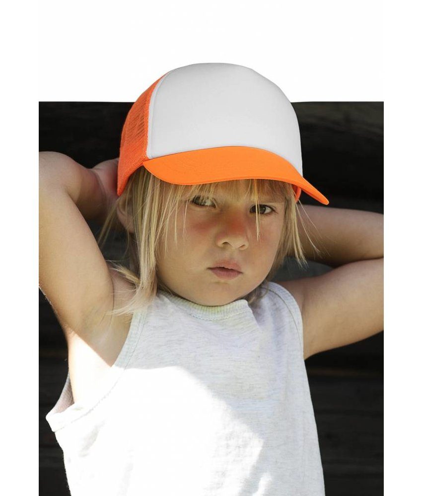 K-UP Kids Trucker Mesh Cap - 5 Panels